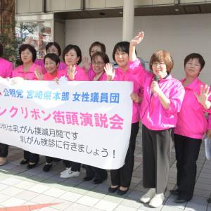 宮崎・女性街頭